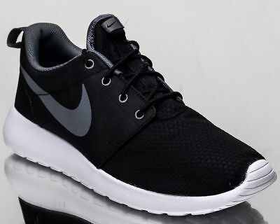 size 40 1a619 a6f6e Nike Roshe One SE Men`s Trainers Shoes 844687 004 Black