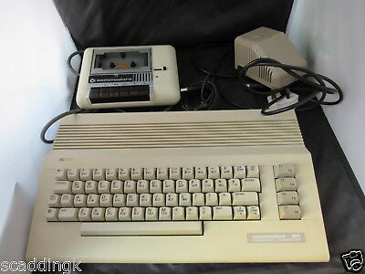Commodore 64 Vintage Computer with Cassette Deck