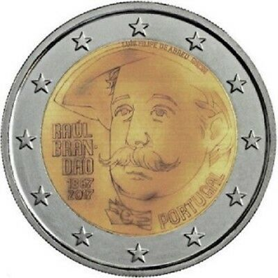 2 Euros Commémorative Portugal 2017 '' Brandao '' UNC