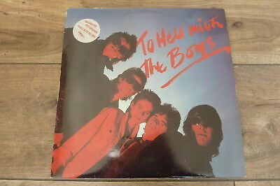 The Boys - To Hell And Back 1979 UK LP SAFARI 1st with SONG BOOK PUNK/KBD