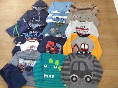Next Boys Clothes Bundle Age 2-3 Years Tops