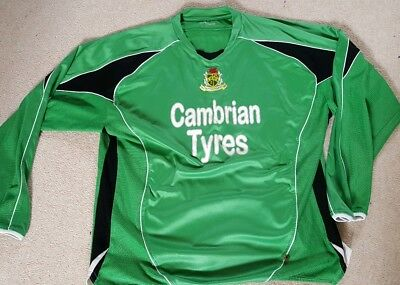 Aberystwyth Town Wales Football Shirt  Size Large