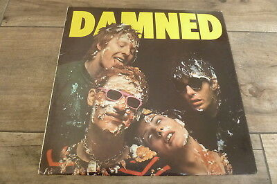 The Damned - Damned Damned Damned 1977 UK LP STIFF 1st PUNK/KBD