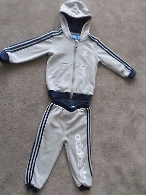 Boys Adidas Tracksuit, Age 2-3 Years