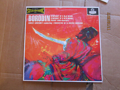 London Cs6126 Bordin Symphonies Nos. 2&3 Prince Igor Overtures Ansermet Nm