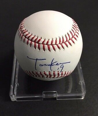Masahiro Tanaka Autographed Baseball MLB Signed Major League New York JSA COA