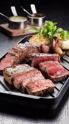 Steak- Image Photo Picture Phone Wallpaper - Free Shipping