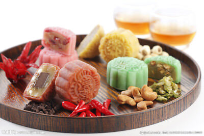 Moon Cake - Photo Picture Image Wallpaper - Chinese Traditional Food