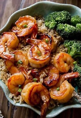 Image Photo Picture Phone Wallpaper - Baked Shrimp Rice