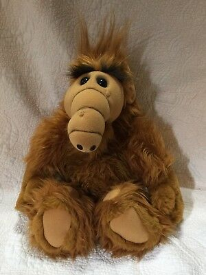"Vintage Alf 18"" Plush Stuffed Talking Animal Alien 1986 Coleco"