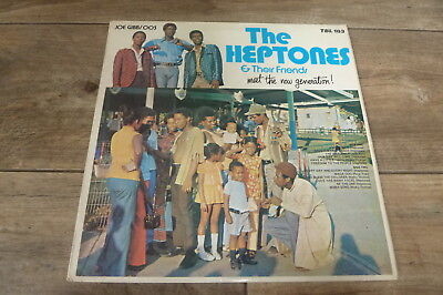 The Heptones - The Heptones And Their Friends Meet The Now 1972 UK LP TROJAN