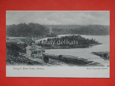 AUSTRALIA Sydney George's River Como old postcard Kerry
