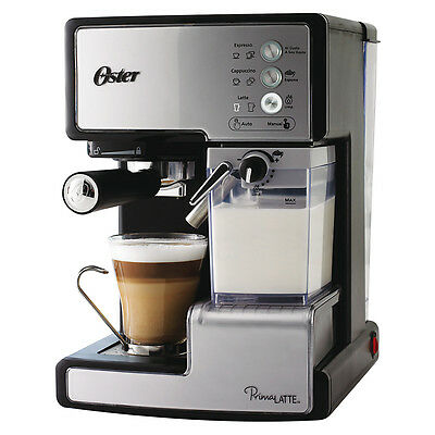 Cafetera Expresso Manual 15bar 1500w deposito extraible PrimaLatte Oster