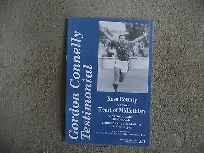 1996-97 (Mar) Ross County v Hearts   - Testimonial