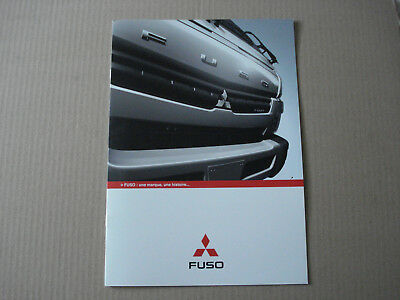 catalogue  camion fuso canter  - 2012