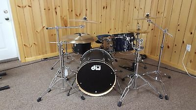 DW Collectors Series Drum set with all the hardware and cymbals INCLUDEDI