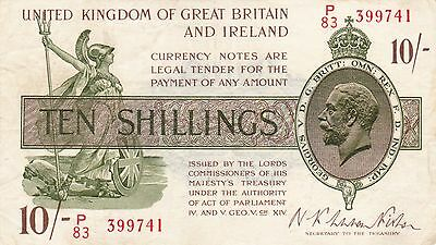 10 Shillings United Kingdom Of Great Britain And Ireland
