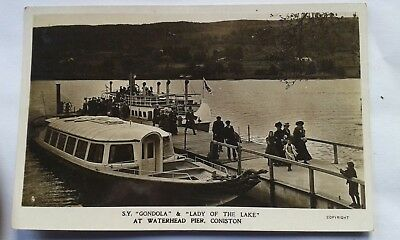 Pc Coniston Gondola And Lady Of The Lake Furness Railway Ulverston Windermere