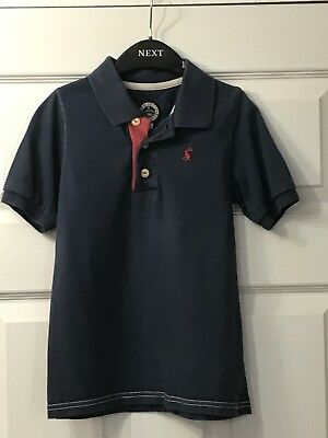 Joules Boys Navy  Polo Shirt Age 6