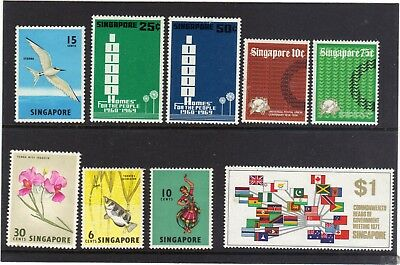 Singapore Selection 9 Stamps M.n.h.