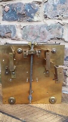 Very rare Elliott London 3 train regulator Musical grandfather clock movement