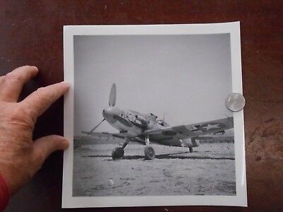 ww2 photo me 109 German fighter