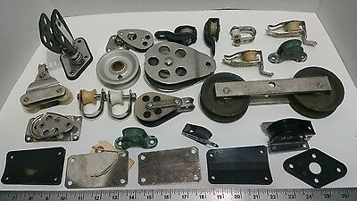 Vintage Marine Pulley Lot