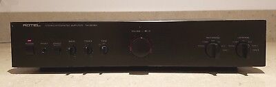 Rotel Ra-960Bx 60 Wpc Integrated Amplifier With Mm Mc Phono Input Good Condition