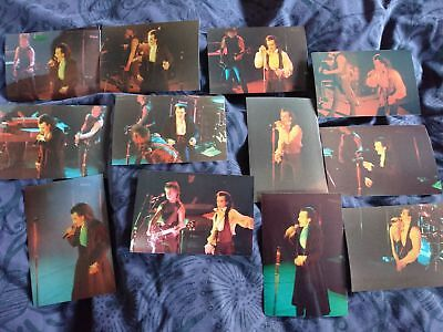 The Damned Photo Set. Live at Bradford 1980's
