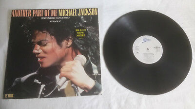 "Michael Jackson  -   Another Part Of Me  -   Orig. 4 Track  Uk 12""  1987"