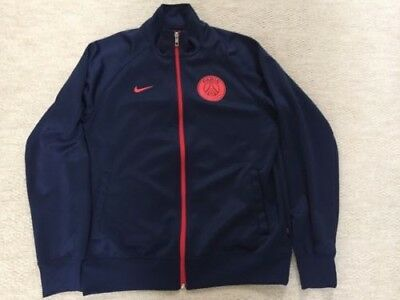 New without tags Paris St Germain navy tracksuit jacket size M