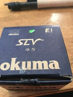 Okuma Fly Fishing Reel SLV 45 With Box And Instructions