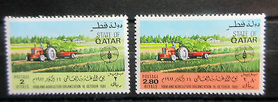 Qatar 1981 World Food Day Set. MNH