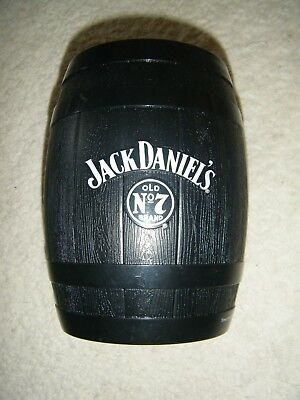 Jack Daniels No 7 Whiskey Barrel Style Ice Bucket Cooler Bn Party/man Cave