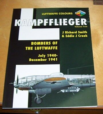 Kampfflieger Luftwaffe Colours Volume Two Bombers Of The Luftwaffe 1940-1941