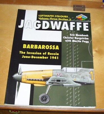 Luftwaffe Colours Vol 3 Sect 2 Jagdwaffe Barbarossa Invasion Of Russia 1941