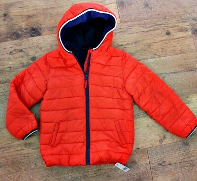 Mothercare Boys Red Puffa Jacket Coat Age 7-8 Y / 8 Y New !