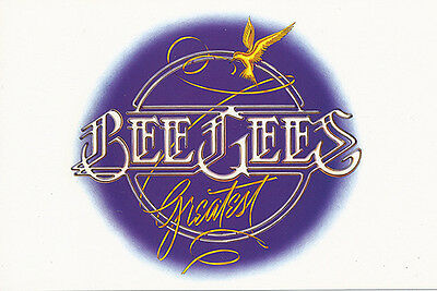 Bee Gees Greatest RARE promo collectible cards '07