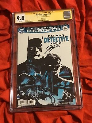 Cgc Ss 9.8~Detective #939~Batman & Robin Variant~Signed By James Tynion Iv~Comic