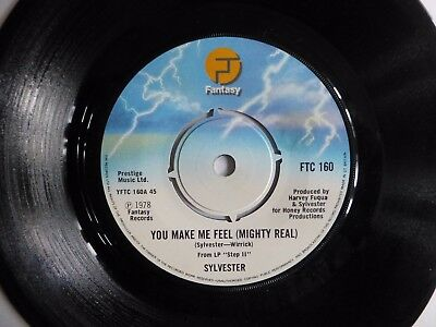 """Sylvester - You Make Me Feel (Mighty Real) 1978 7"""" Vinyl Single Ftc 160"""