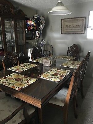 Antique Table And Bifet