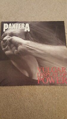 Pantera A Vulgar Display Of Power Vinyl Record