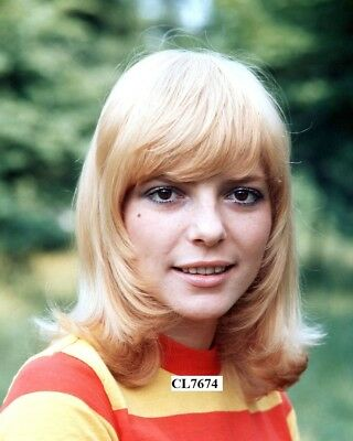 France Gall Poses for a Portrait Photo