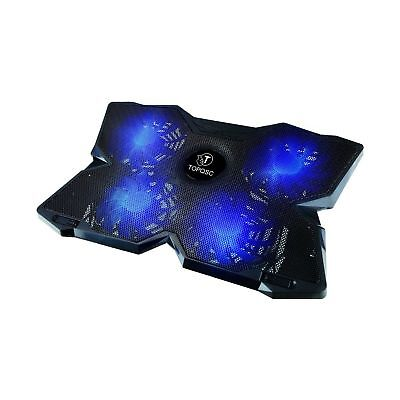 TOPQSC Cooling Fans- Laptop Cooling Pad-laptop cooler for Gaming Ultra-Portab...