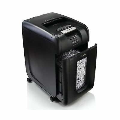 Swingline Stack and Shred 300X Auto Feed Cross Cut Shredder 300 sheets 5-10 u...