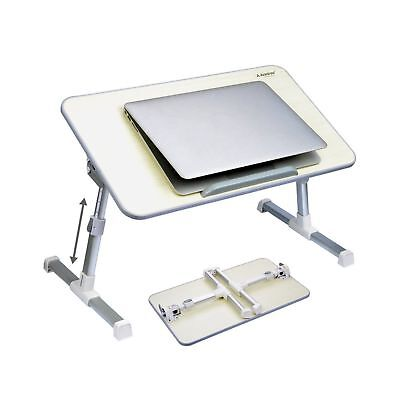 Avantree Quality Adjustable Laptop Table Portable Standing Bed Desk Foldable ...