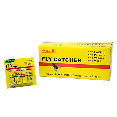 16 Rolls Fly Sticky Paper mosquito Trap anti mosquito Fly Catcher Non Toxic
