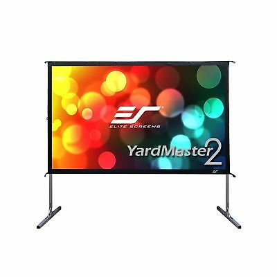 Elite Screens Yard Master 2 135-inch 16:9 Foldable Outdoor Front Projection M...