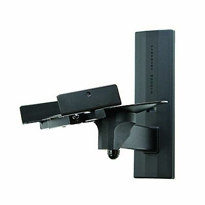 PINPOINT MOUNTS AM41-Black Side Clamping Bookshelf Speaker Wall Mount