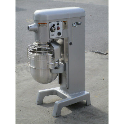 Hobart 40 Quart D340 Mixer With Bowl Guard, Great Condition